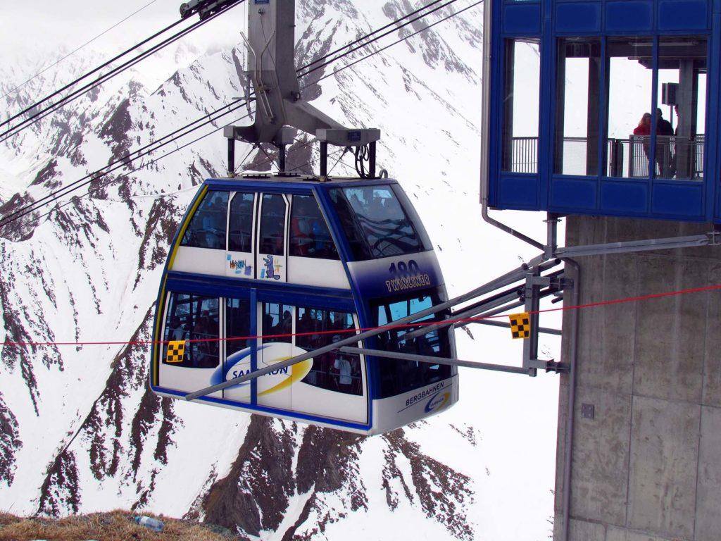 150-osobowa gondola w Ischgl