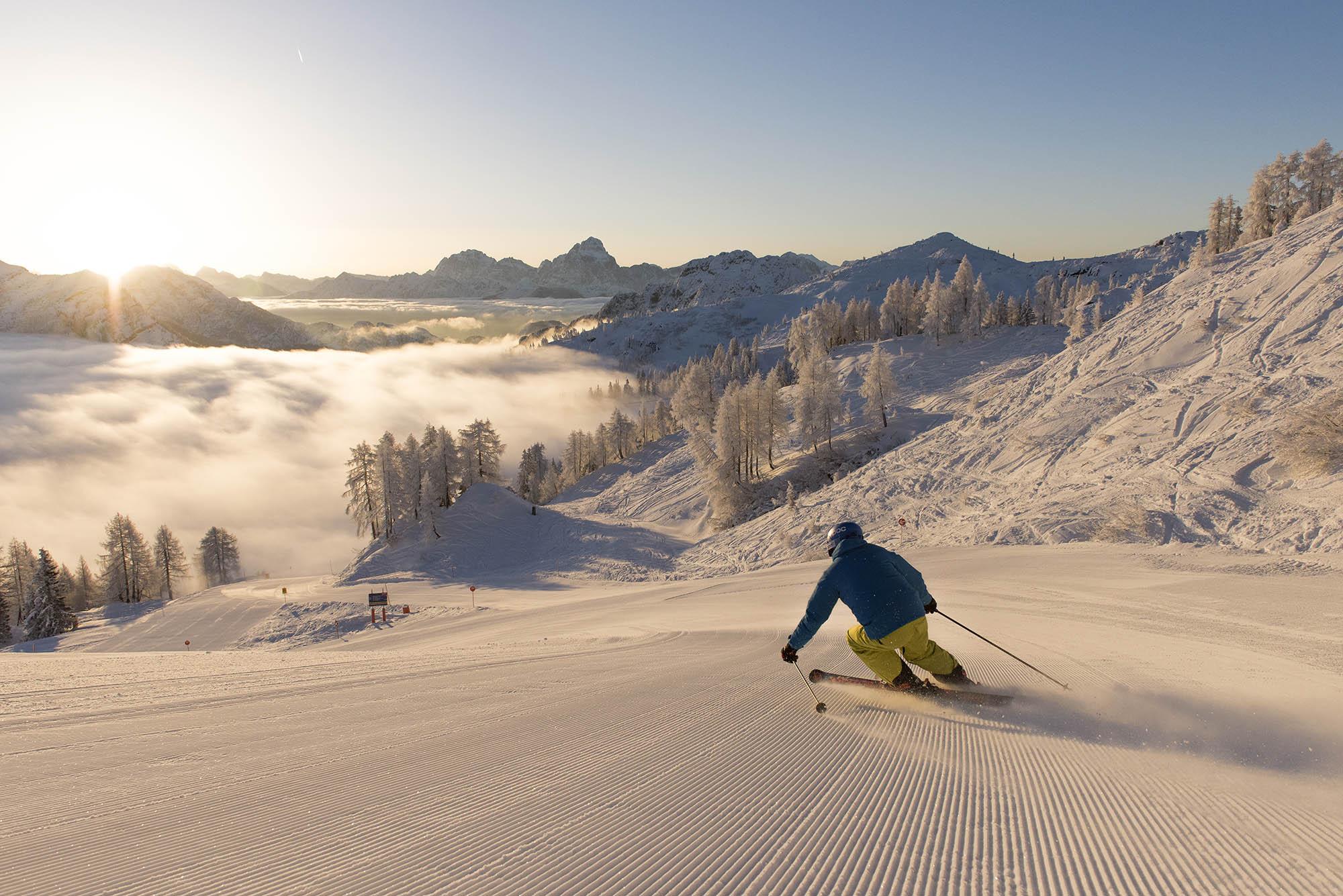 ©FRANZGERDL_KaerntenWerbung NASSFELD Ski Alpin