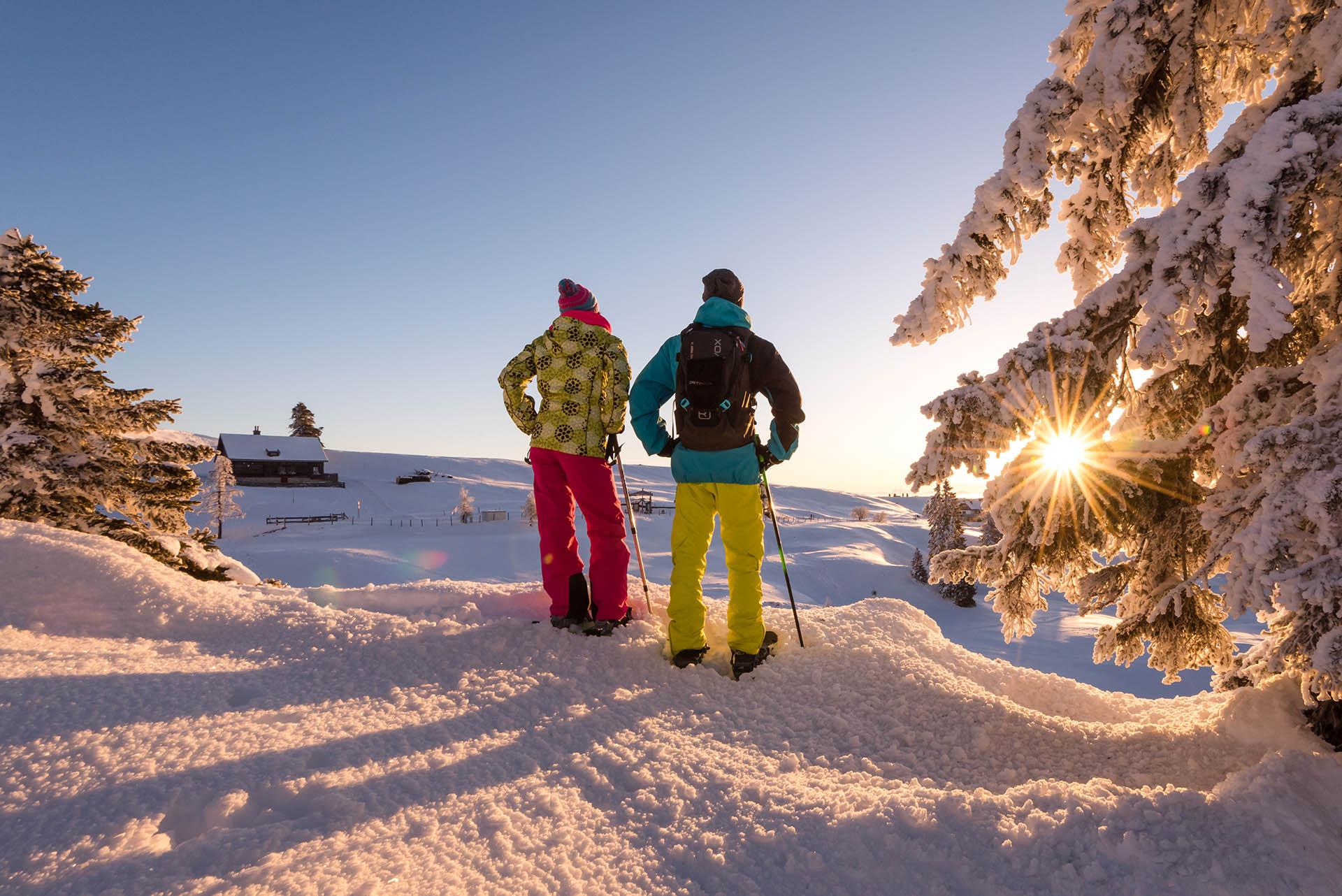 Schneeschuhwandern am Dobratsch-Region Villach_MichaelStabentheiner